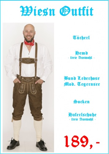 Wiesn Outfit 5 teilig