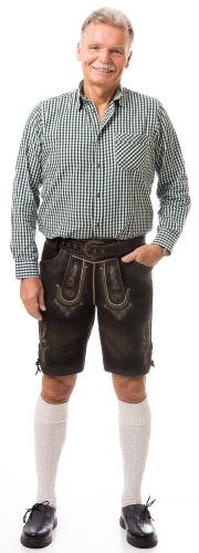 Chiemsee kurze Herren Lederhose von FISCHER TRACHT