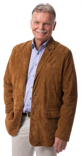 Julio Blazer Ziegenvelour-Leder für Herren