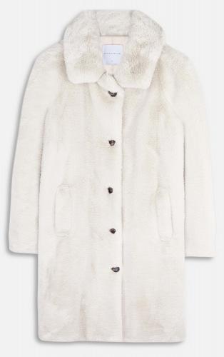 Zonna beige Faux Fur Jacke von RINO&PELLE