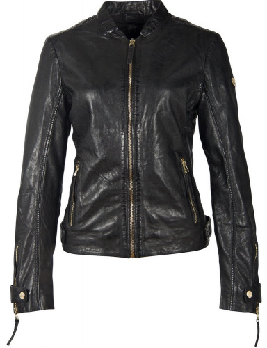 Luzi schwarze Damen Jacke von Gipsy