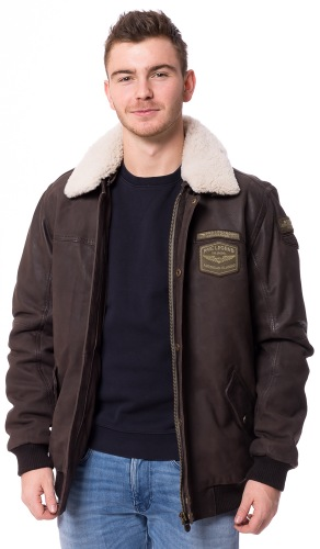 Boston brauner Piloten Blouson von PME LEGEND