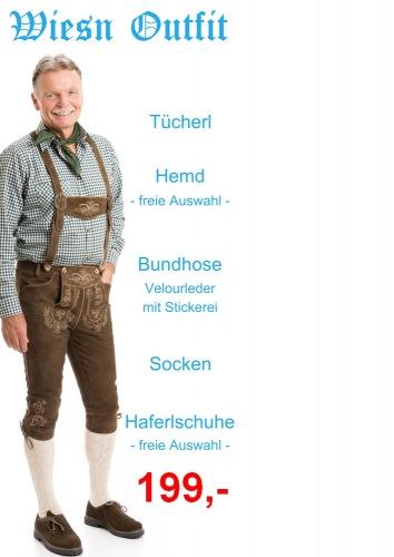 Wiesn Outfit 4 - Mondsee Bundhose