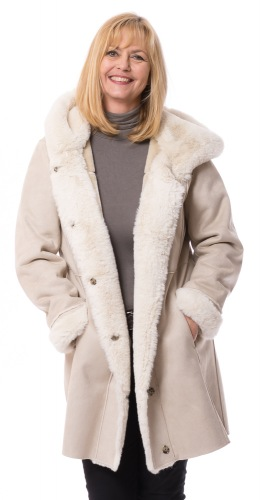 Patty Fake Fur Jacke von Milestone
