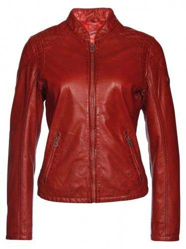 Sashi rote Damen Lederjacke von Gipsy