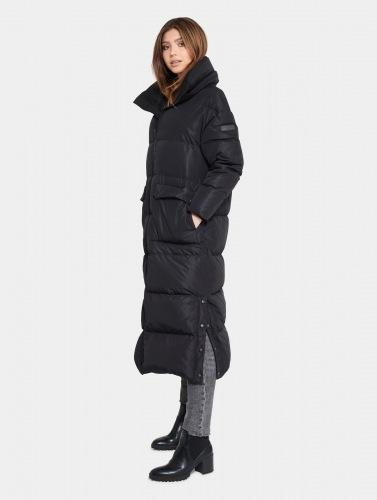 Luyu schwarzer Mantel von ROCKANDBLUE