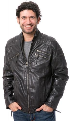 bruno banani lederjacke jacke leather