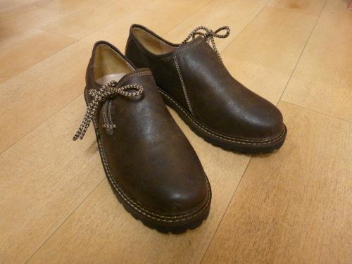 Haferl Schuh antik gewachst