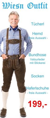 Wiesn Outfit 1 - Tegernsee Bundhose