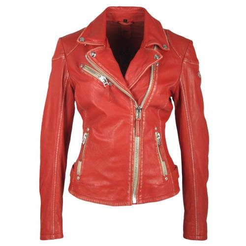 Perfecto rot Damen Lederjacke von Gipsy