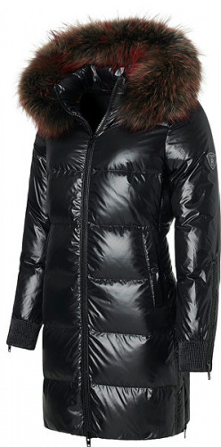 Norah schwarze Daunen Jacke von ROCKANDBLUE