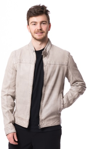 Ryker Lamm- Nappaleder Jacke für Herren von GIPSY