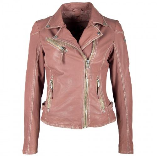 Perfecto PGG rose Biker Lederjacke für Frauen von Gipsy